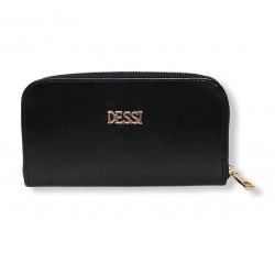 Lux by Dessi PT1 női pénztárca fekete